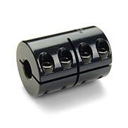 2mm x 2mm Keyway Width 8mm Bore B Diameter 8mm Bore A Diameter Ruland MCLC-8-8-F One-Piece Clamping Rigid Coupling with Keyway 35mm Length Metric Black Oxide Steel 24mm OD