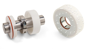 IP69K rated hygienic clamping assembly from Ruland