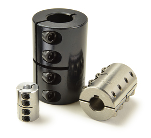 Rigid couplings for packaging applications