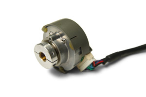 Thin line shaft collars for encoders