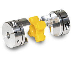 Zero Backlash Jaw Couplings for Machine Vision Systems