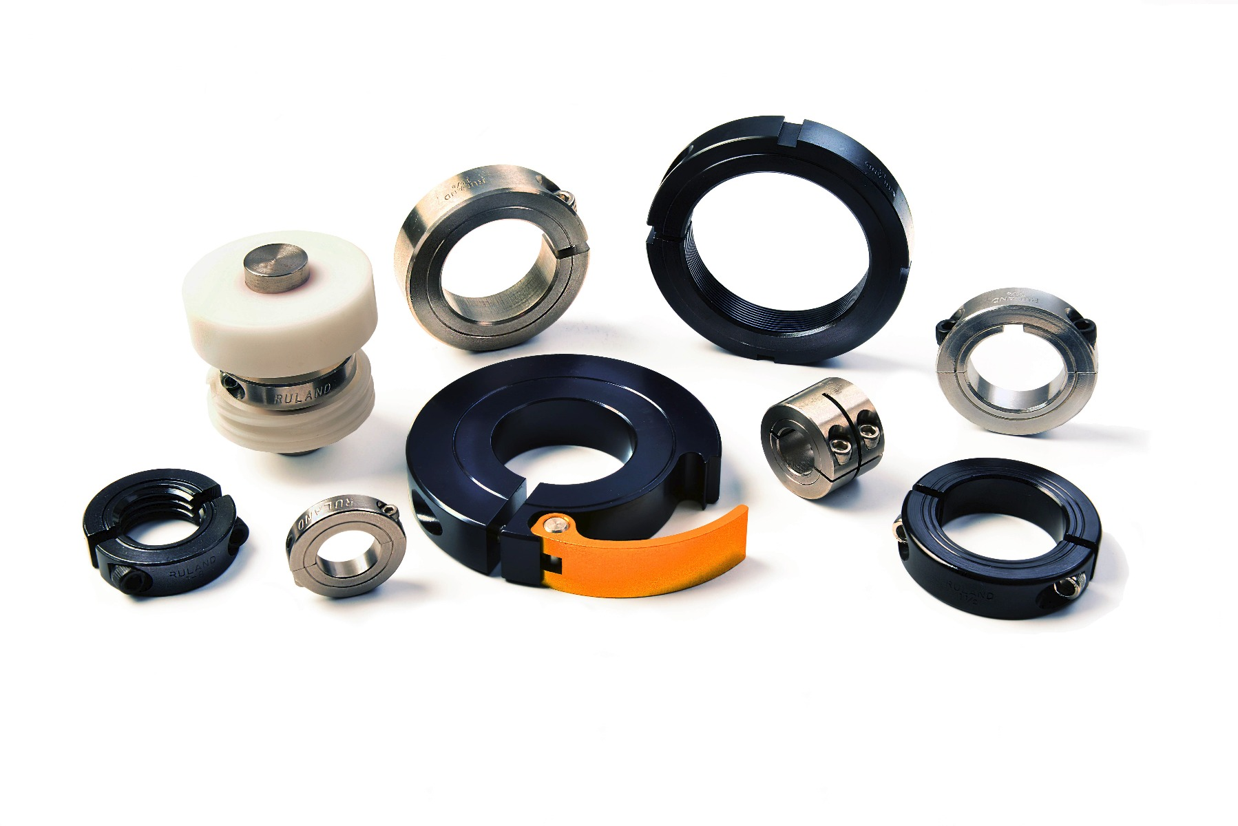 Clamp Style Shaft Collars for Food Equipment